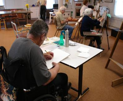 Portrait Painting Class-Pine Shore Art Assoc. Stafford NJ