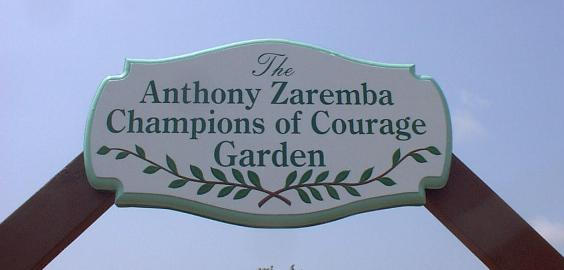 Anthony Zaremba Champions of Courage Garden click to view